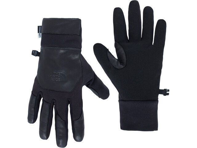 The North Face Etip Leather Gants Homme, black